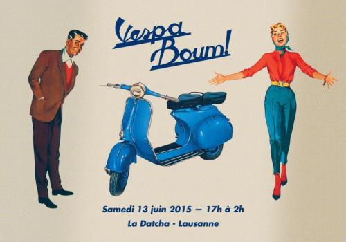 Vespa Boum !