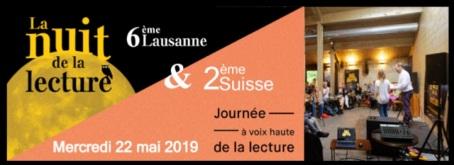 Programme Nuit de la Lecture