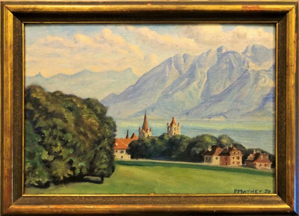 Peinture Matthey 1920
